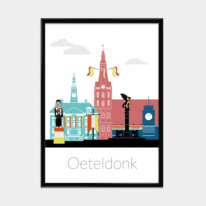 Oeteldonk poster Limited Edition