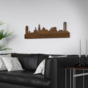 Skyline Den Bosch muur Noten