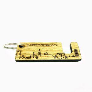 Sleutelhanger mobielhouder Den Bosch Eiken