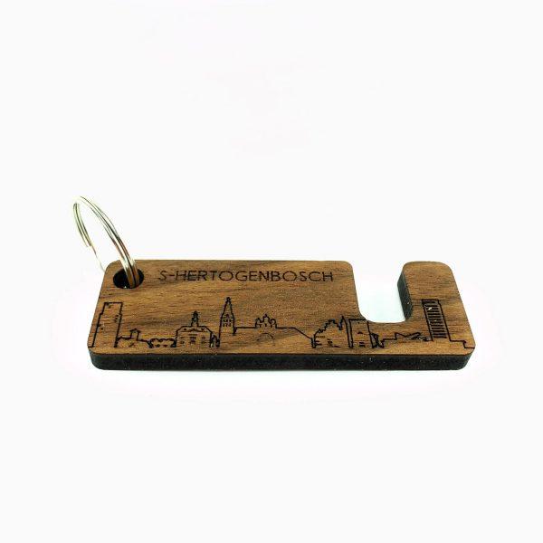 Sleutelhanger mobielhouder Den Bosch Noten