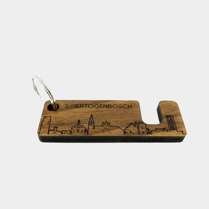 Sleutelhanger mobielhouder noten