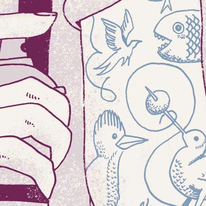 Poster Jheronimus Now detail