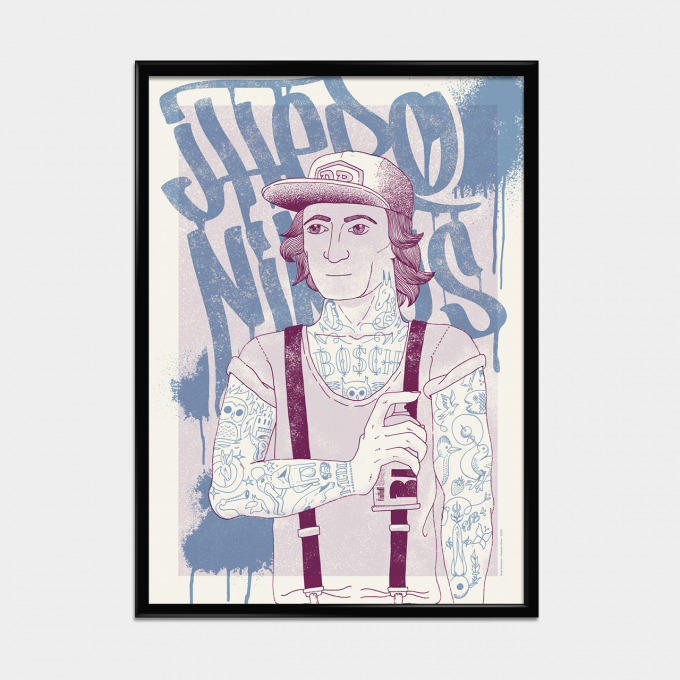 Poster Jheronimus Now lijst